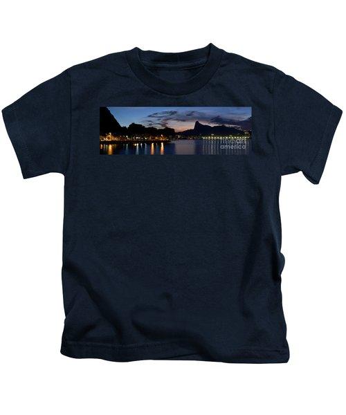 Rio Skyline From Urca Kids T-Shirt