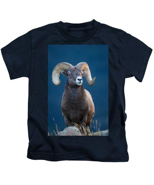 Rocky Mountain Big Horn Kids T-Shirt