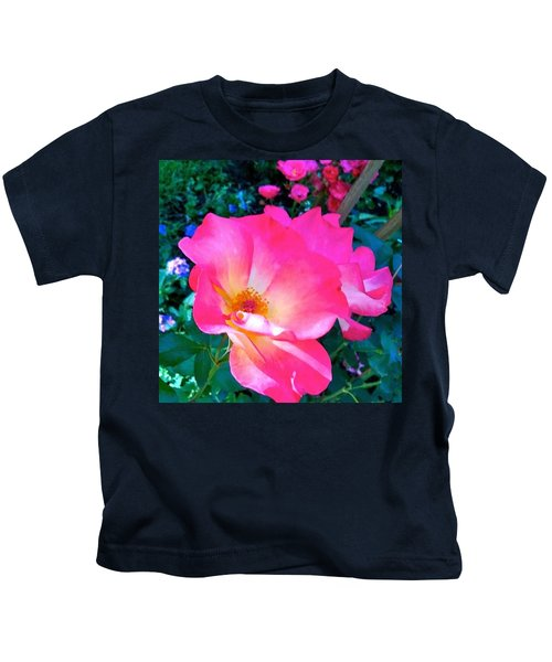 Roses From Anna's Gardens Kids T-Shirt