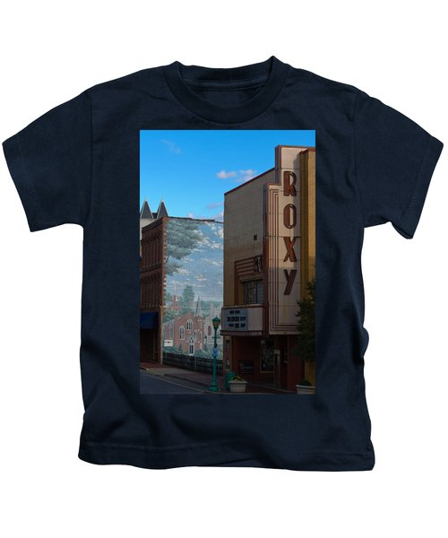Roxy Theater And Mural Kids T-Shirt