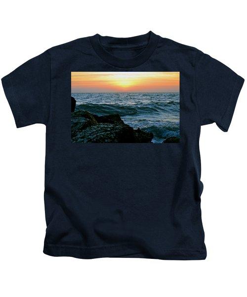 Sunset Captiva Kids T-Shirt