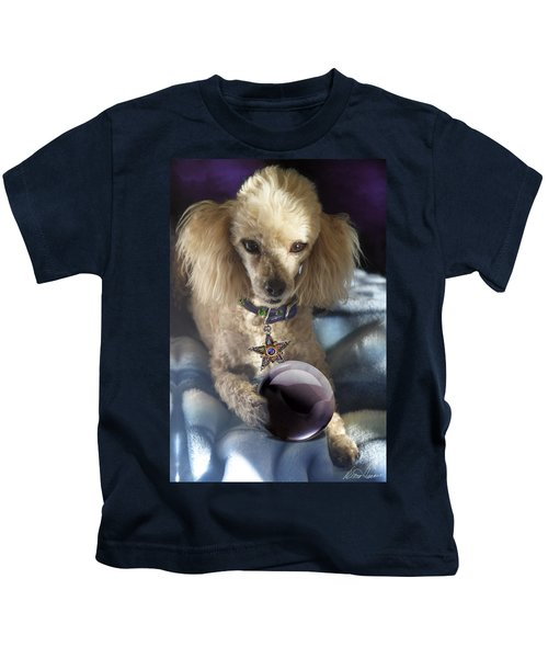 The Wizard Of Dogs Kids T-Shirt