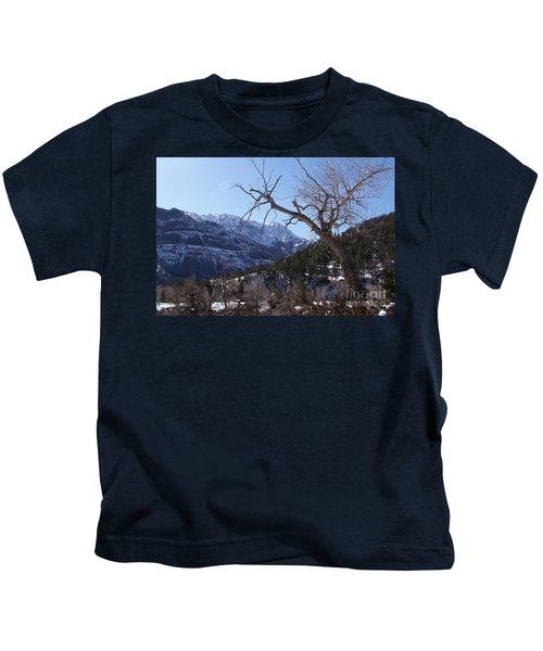 Where Dreams Begin Kids T-Shirt