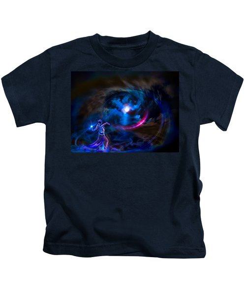 Entrancing The Mystical Moon Kids T-Shirt