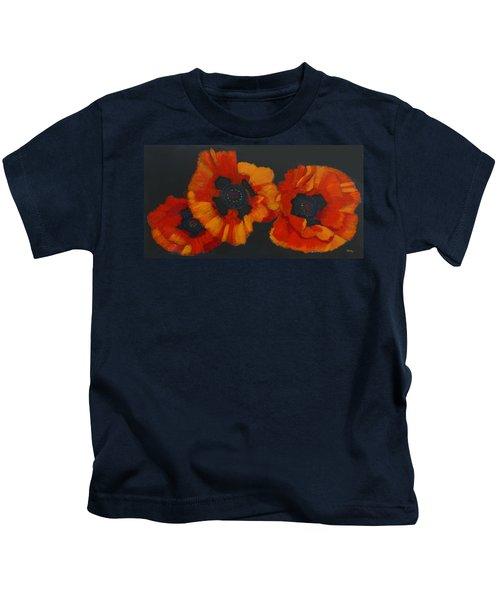 3 Poppies Kids T-Shirt