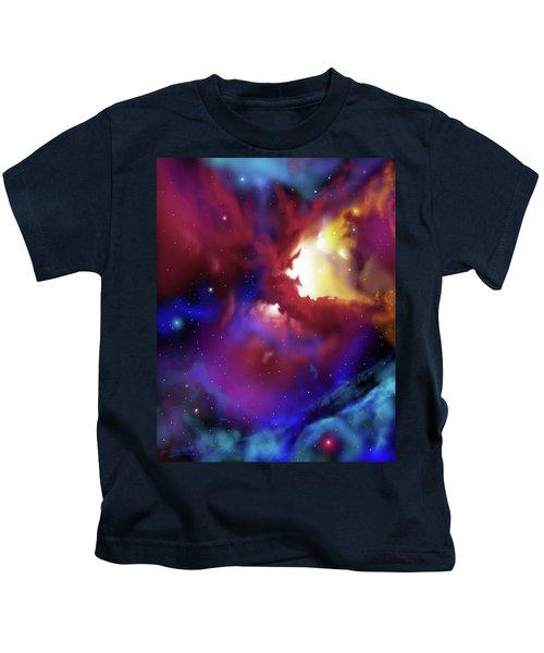 Bat Nebula Kids T-Shirt