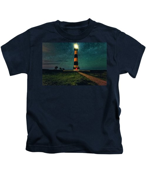 Bodie Island Night Kids T-Shirt