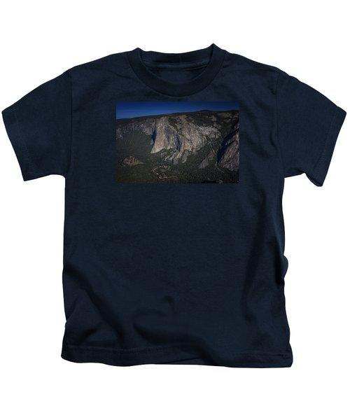 El Capitan  Kids T-Shirt by Rick Berk