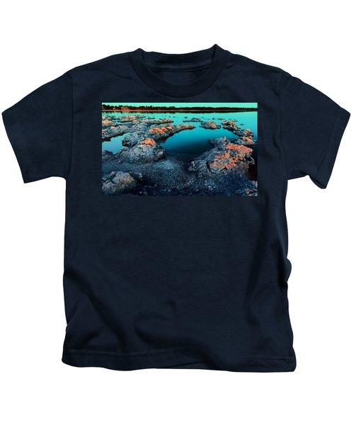 Evening In Lake Walyungup Kids T-Shirt