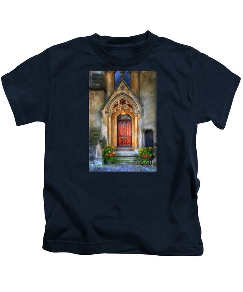 Evensong Kids T-Shirt by Lois Bryan