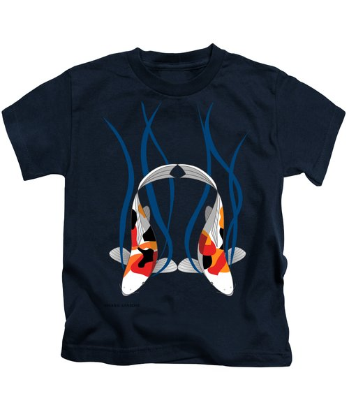 Koi Pond Kids T-Shirt