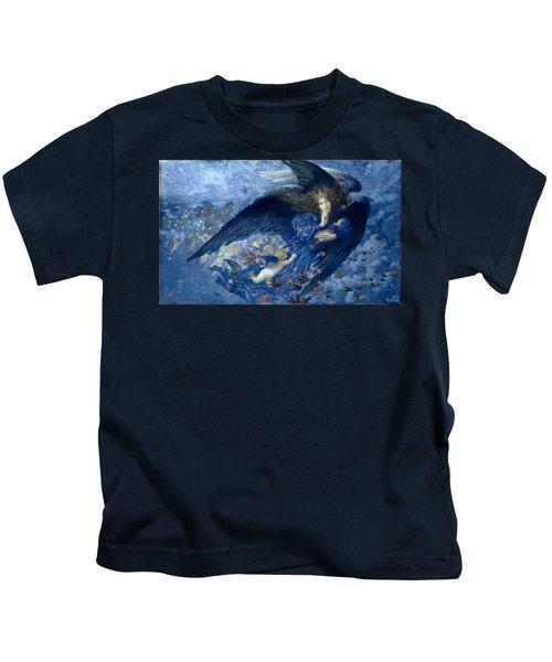 Night With Her Train Of Stars Kids T-Shirt