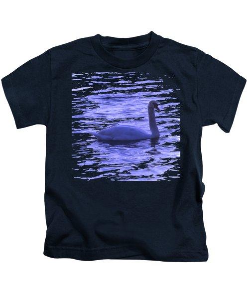 Swan Lake Kids T-Shirt by Vesna Martinjak