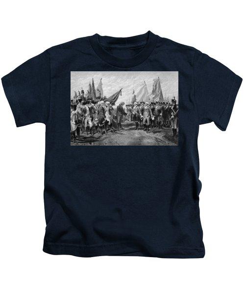 The Surrender Of Cornwallis At Yorktown Kids T-Shirt