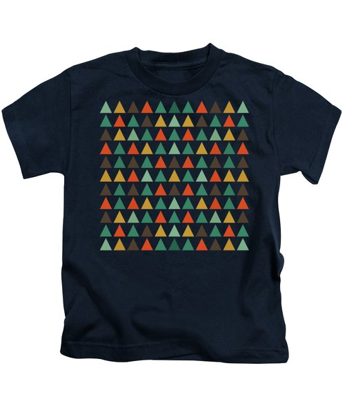 Colorful Geometric Background Kids T-Shirt