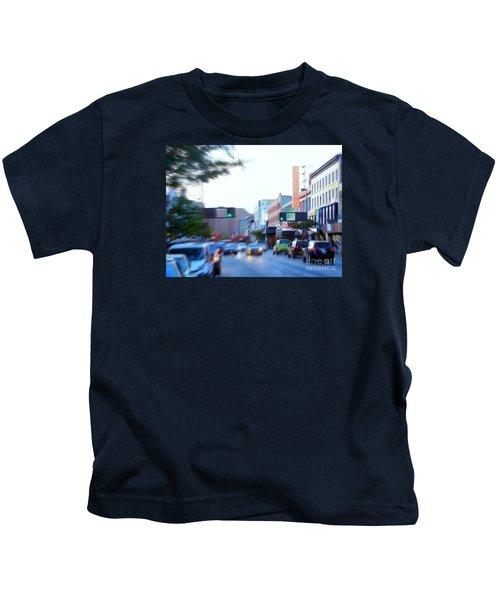 125th Street Harlem Nyc Kids T-Shirt by Ed Weidman