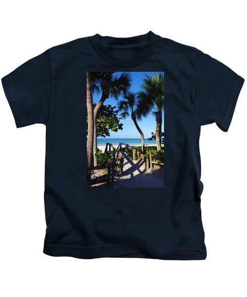 14th Ave S Beach Access Ramp - Naples Fl Kids T-Shirt