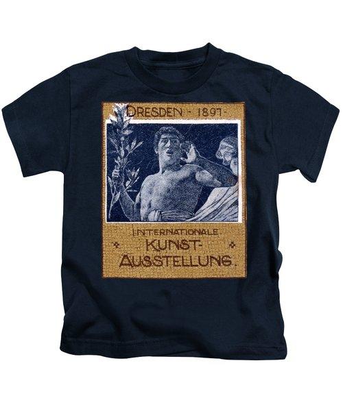 1897 Dresden International Art Exhibit Kids T-Shirt