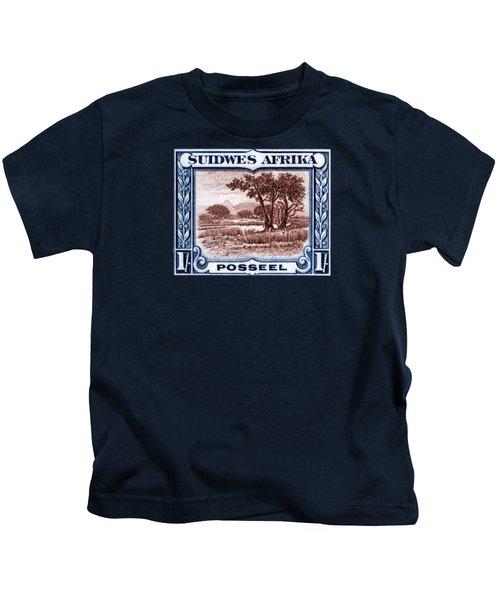 1931 South West African Landscape Stamp Kids T-Shirt