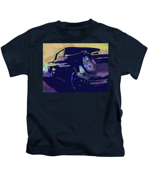 1959 Lincoln Continental Abs Kids T-Shirt