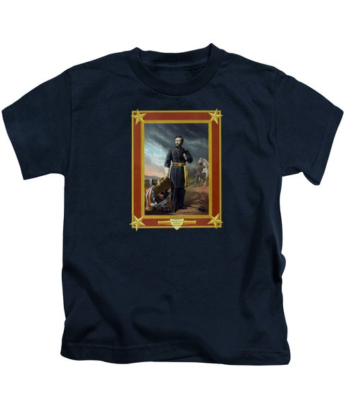 General Us Grant Kids T-Shirt