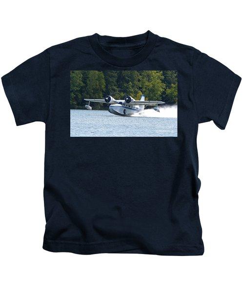 Picking Up Speed Kids T-Shirt