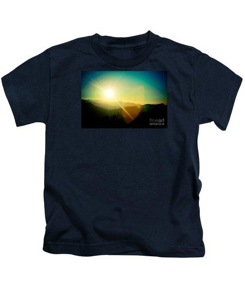 Sunrise In Himalayas Artmif Photo Raimond Klavins Kids T-Shirt