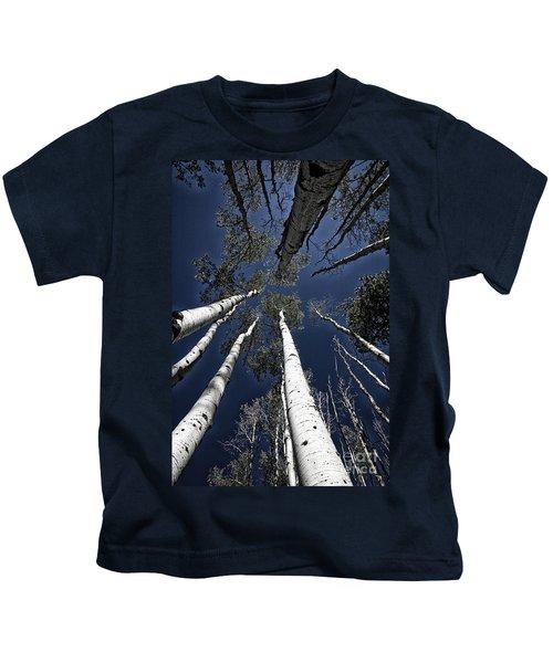 Towering Aspens Kids T-Shirt