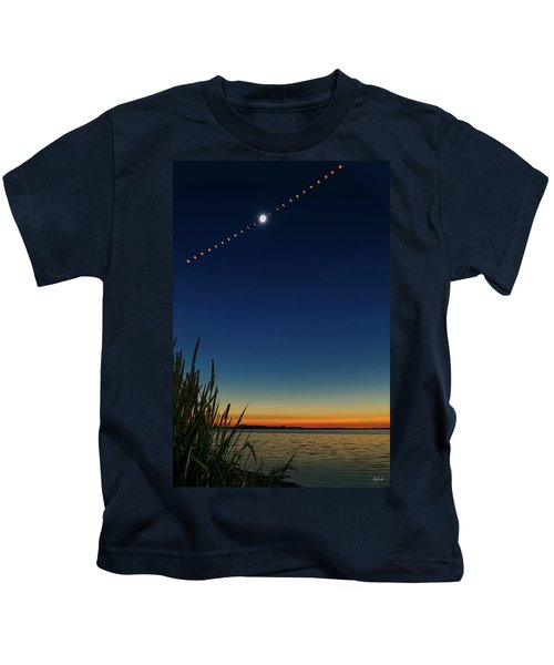 2017 Great American Eclipse Kids T-Shirt
