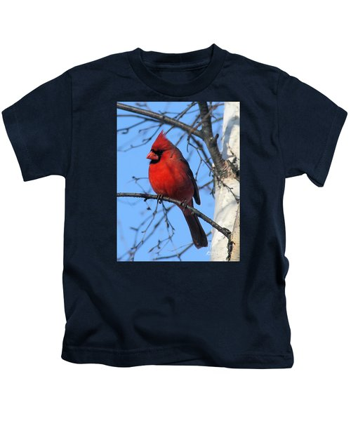 Northern Cardinal Kids T-Shirt