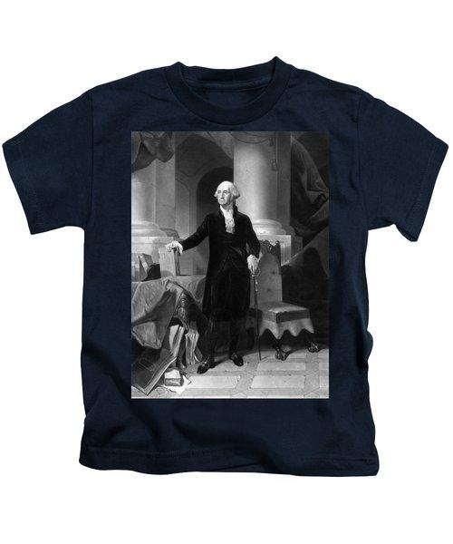 President George Washington  Kids T-Shirt