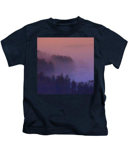 Melvin Bay Fog Kids T-Shirt