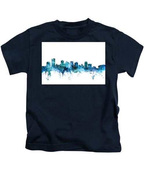 Phoenix Arizona Skyline Kids T-Shirt