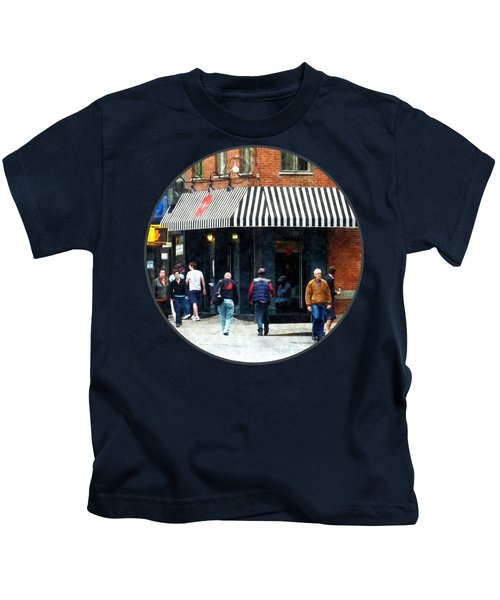 8th Ave. And W 22nd Street Chelsea Kids T-Shirt