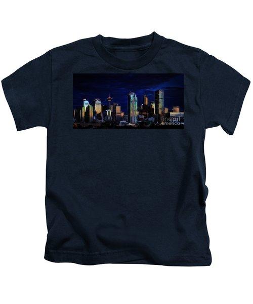 A Calgary Sunrise Kids T-Shirt