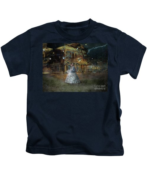 A Haunted Story In Dahlonega Kids T-Shirt