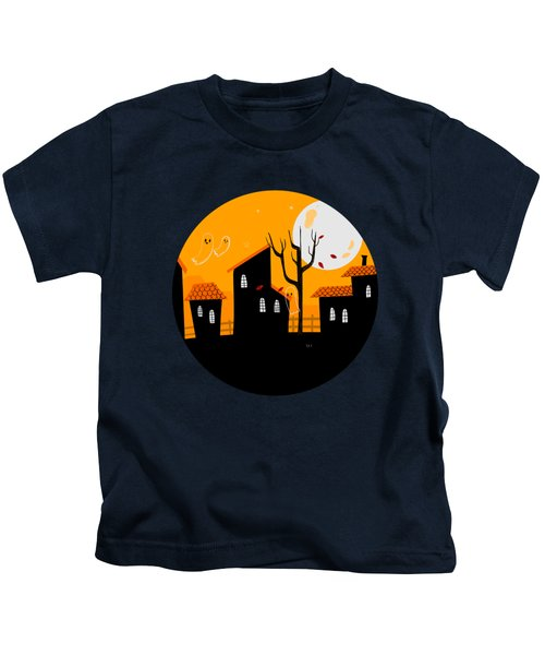 A Haunting We Will Go Kids T-Shirt