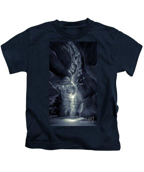 A Phantom Emerges From Antelope Canyon Kids T-Shirt