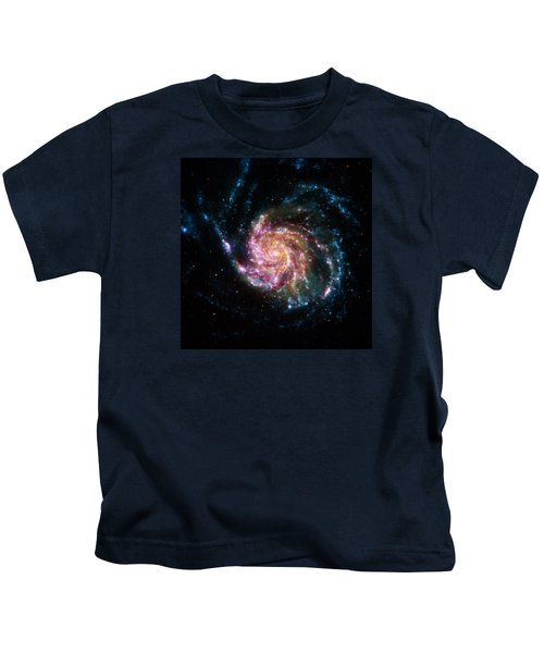 A Pinwheel In Many Colors Kids T-Shirt
