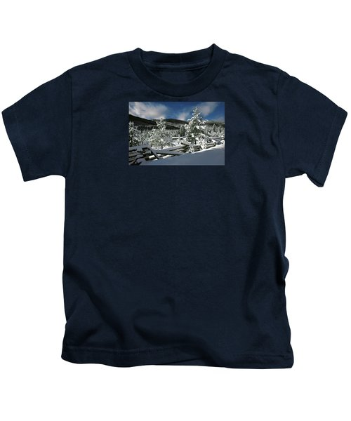 A Place In The Winter Sun Kids T-Shirt