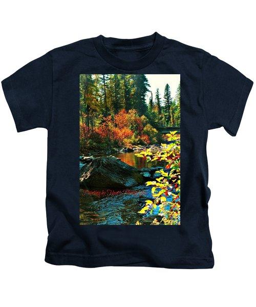 Above Tally Lake Kids T-Shirt