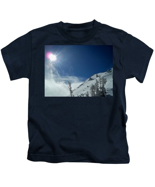 Above The Clouds Kids T-Shirt
