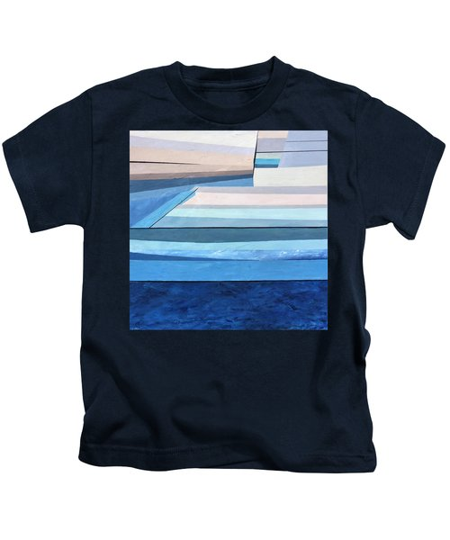 Abstract Swimming Pool Kids T-Shirt
