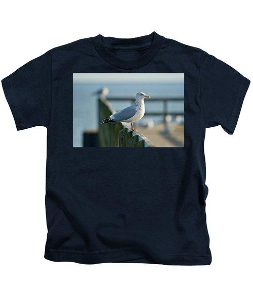 Adult Herring Gull Kids T-Shirt