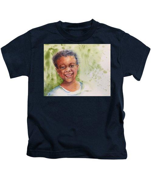 African Girl Kids T-Shirt