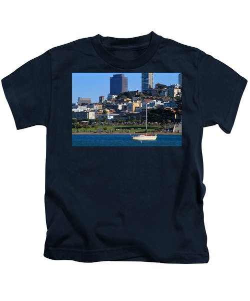 Afternoon At Maritime Park Kids T-Shirt