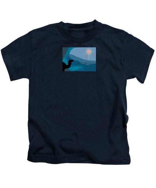 Alexander Epiphany A Kids T-Shirt by Stan  Magnan