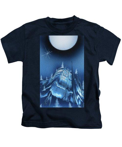 Alpine Ski Area Kids T-Shirt