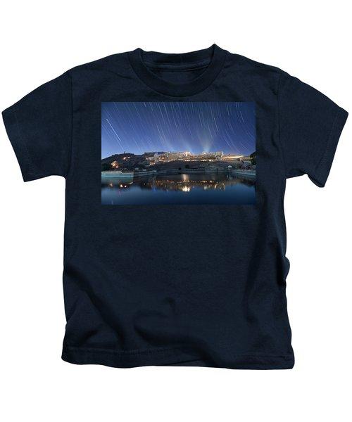 Amber Fort After Sunset Kids T-Shirt