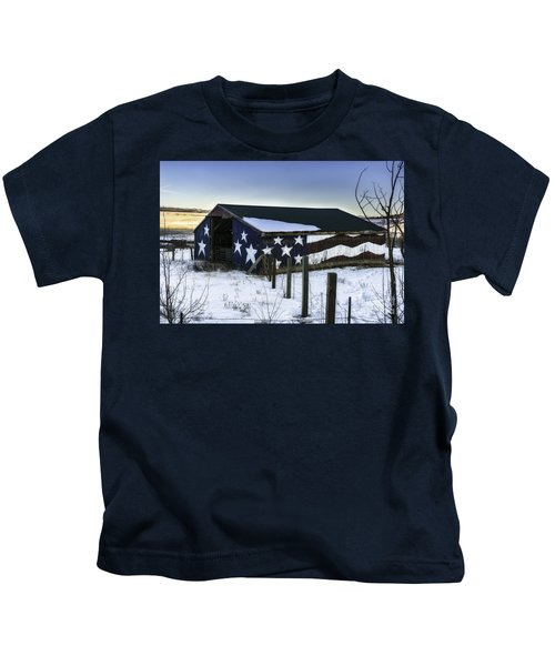 American Snow  Kids T-Shirt